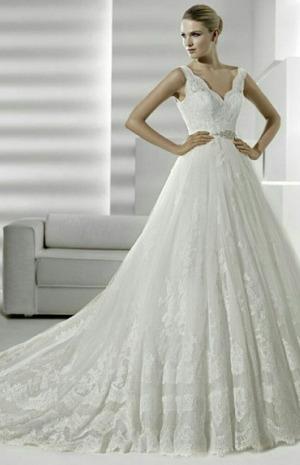 1d845a6d6 تعرفي إلى أجمل فساتين الزفاف الفرنسية | Gheir