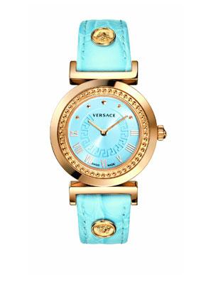 ~~ ساعات بالوان زاهيه ومشرقه ..لاطلاله عصريه وعمليه~~ Versace----5-8-2012.