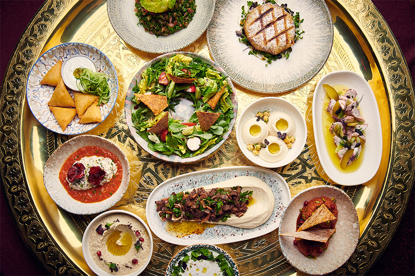 مطعم أصيل في دبي
