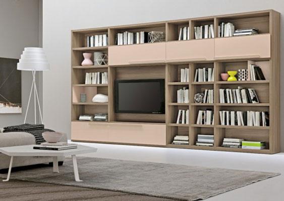 مكتبات غرف الجلوس من