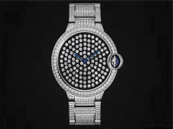 5e5b560f3 النمور وحركة الكواكب تميّز ساعات Cartier الجديدة في SIHH | Gheir