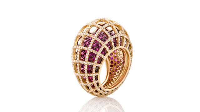 ندى غزال تطلق أفخم المجوهرات العصرية