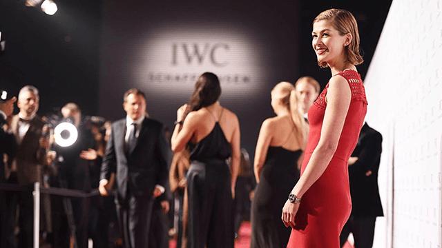شاهدي مشاهير العالم في حفل IWC الراقي في جنيف