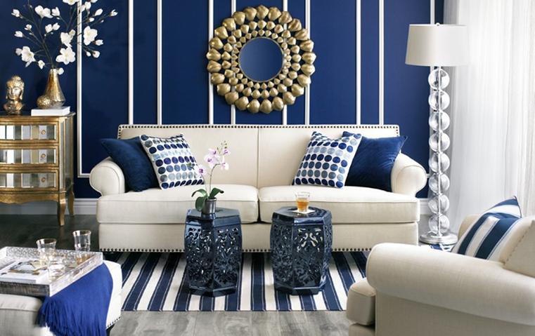 تحبين الأزرق أو الذهبي؟ إليكِ أفكاراً للجمع بينهما!