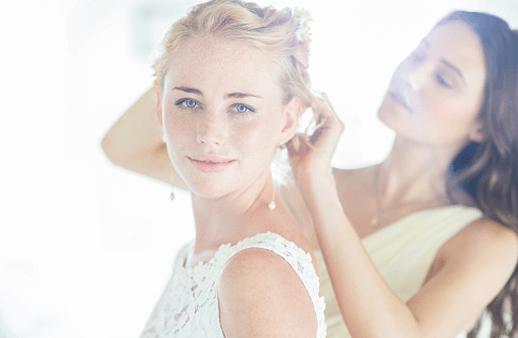 نصائح لمشاكلك الجمالية المزعجة في يوم زفافك