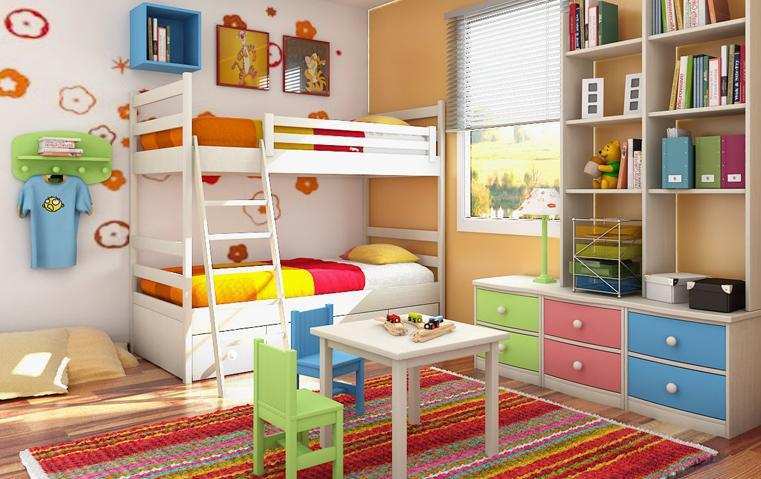 أفكار لديكورات غرفة أطفالك