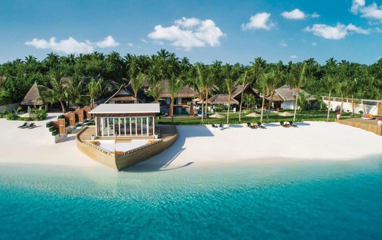 نعم هو خيار الإقامة الأفخم في المالديف وبـ35 ألف دولار للّيلة!
