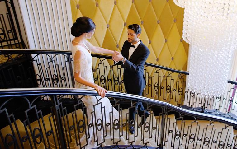 حفل زفافكِ منظم بفخامة على طريقة فندق سانت ريجيس