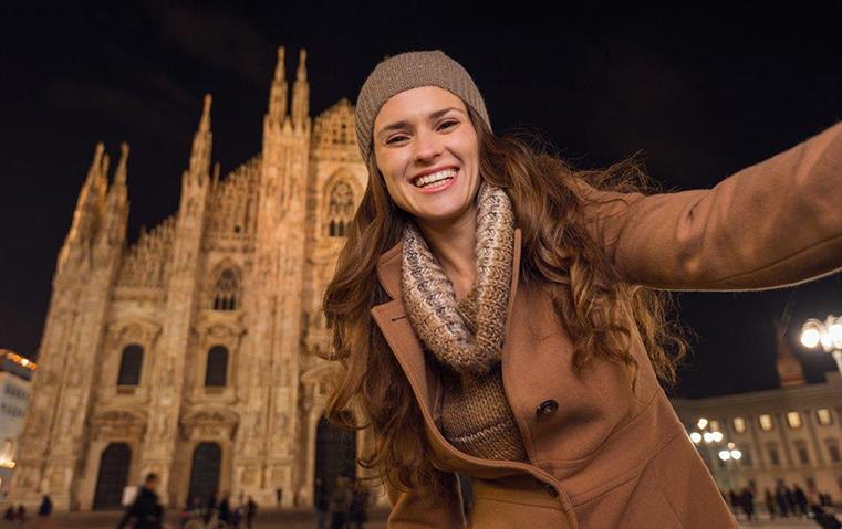 أين تجدين أروع الخلفيّات لالتقاط صور السيلفي في ميلانو