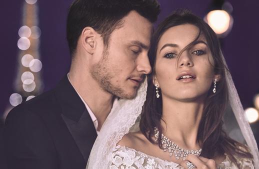 شوميه تزرع السعادة في قلب عروسها بالمجوهرات الشاعريّة!