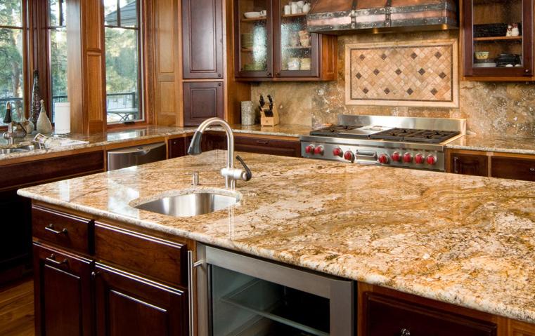 الرخام في المطبخ؛ أناقة تحتاج لصيانة