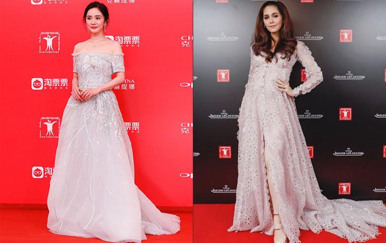4 دور أزياء عريقة التقت في مهرجان شانغهاي للسينما