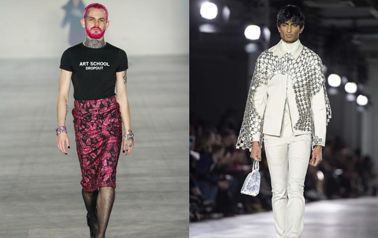 bc30aeeb9cc69 أسبوع لندن لملابس الرجال  الموضة تلغي الفوارق بين الرجال والنساء