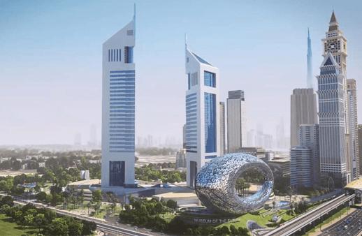 جديد دبي: إنشاء متحف المستقبل بـ500 مليون درهم
