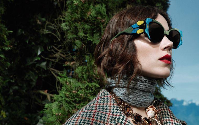 b09a1897d من بينها Prada وMiu Miu: هذه أجمل موديلات النظارات الشمسية لهذا الموسم!