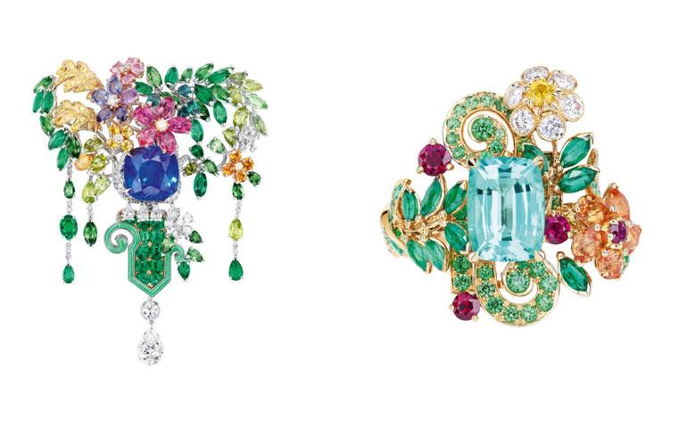 مجوهرات ديور تأخذنا في نزهة ساحرة إلى حديقة فرساي