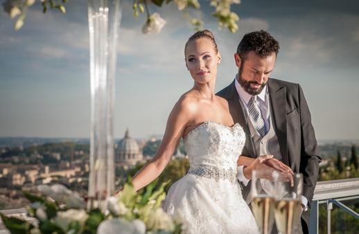 طقوس زفافك ستتجاوز الأحلام في هذا المكان في روما