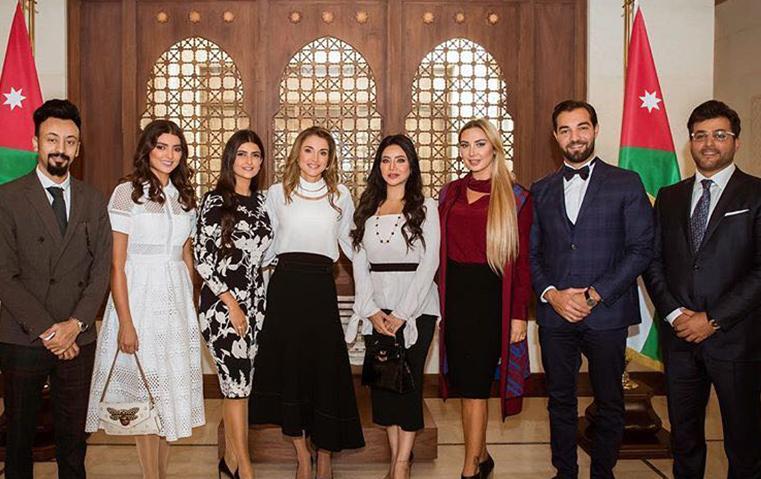 4 إعلاميات عربيات بضيافة الملكة رانيا!