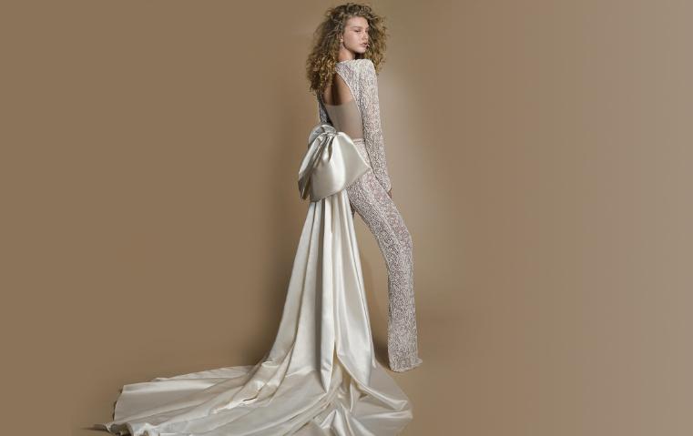71de8c7f37a63 10 صيحات بانتظار عروس 2019  أجملها فساتين الأميرات والبدلات بالستايل  الذكوري!