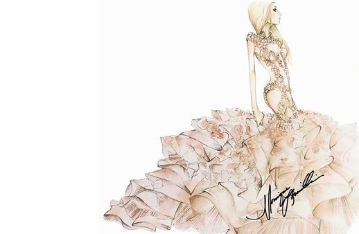 هذا هو فستان فرح ليدي غاغا بحسب أبرز المصممين العالميين!