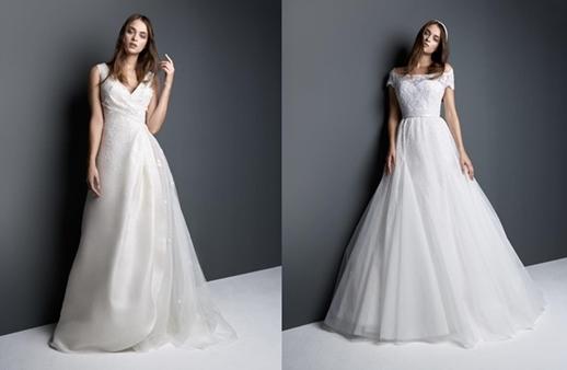 مجموعة جورج حبيقة الفاخرة تحتفل بفستان الزفاف ذاته