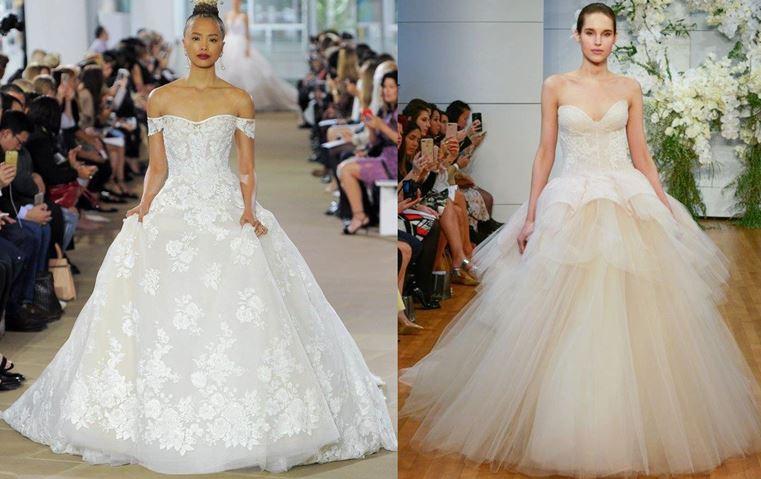 79fa7a4740826 3 صيحات في فساتين الزفاف لصيف 2018  ما عليكِ سوى أن تختاري ستايلك المفضّل!