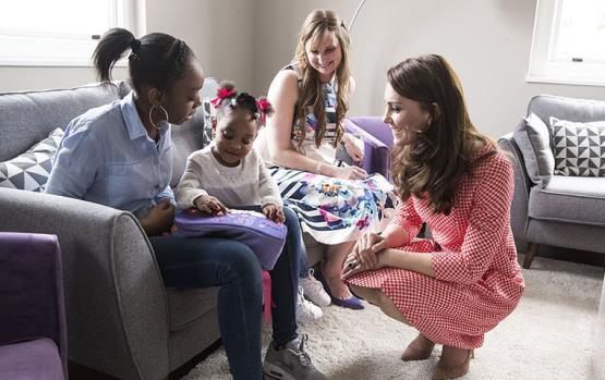 هكذا دعمت كيت ميدلتون الأمّهات المكتئبات