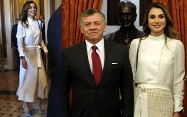 هكذا أطلّت الملكة رانيا العبدالله في الولايات المتحدة