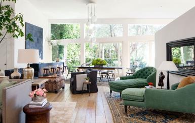 من جنيفير أنيستون إلى جورج كلوني، تجوّلي مع Gheir في غرف معيشة المشاهير