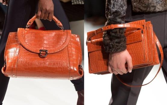حقائب جلد التمساح من سالفاتوري فيراغامو هي الأجمل