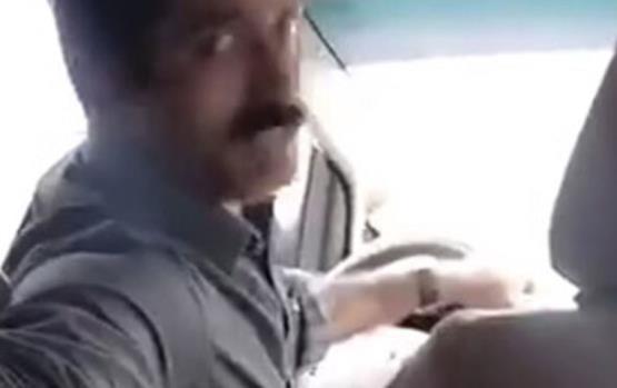 غضب عارم من فتاة سعودية بعد نشرها مقطع فيديو لسائق يتحرّش بها
