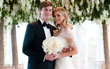 أخيراً، الكشف عن ثمن فستان زفاف إيفانكا ترامب الباهظ!