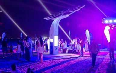 """""""نخيل"""" الواي فاي بالطاقة الشمسية في دبي"""
