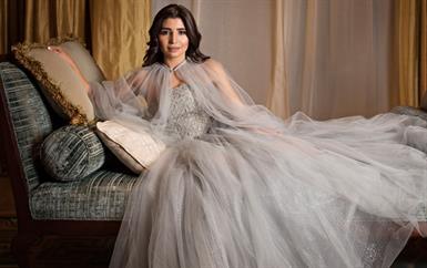 حصرياً: شهد بلان تتألّق بفساتين مرمر حليم في جلسة تصوير خاصة بالعيد