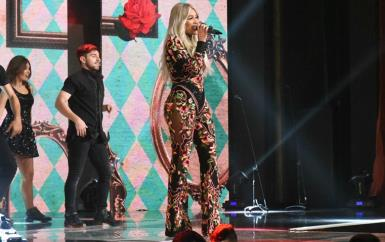 فساتين النجمات في الحفل الأول لجائزة الموسيقى العربية