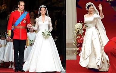 إليك أروع فساتين فرح الملكات والأميرات المحفورة في تاريخ الموضة!