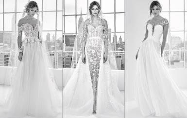 عروس زهير مراد لربيع 2018 بالأبيض والأسود والأقمشة الشفافة!