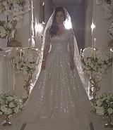 شاهدي لجين عمران بفستان الزفاف وأعطينا رأيك..