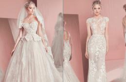 فساتين زفاف خيالية وحالمة من زهير مراد لربيع 2016