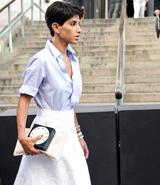 أميرة سعودية في الصفوف الأولى لأسبوع الموضة النيويوركي