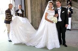 أميرة السويد تُزّف إلى فارس أحلامها الأميركي